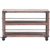 Franklin Shelf Distressed Natural