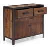 Franklin Cabinet Distressed Natural