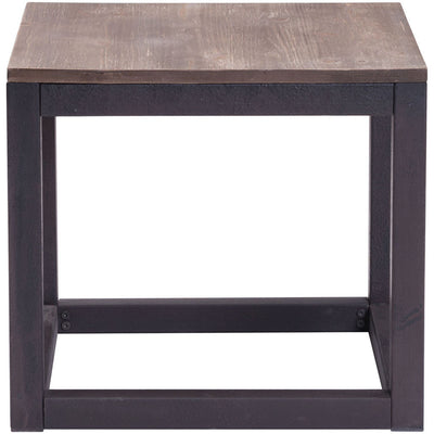 Cambridge Side Table Distressed Natural