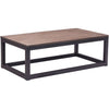 Cambridge Long Coffee Table Distressed Natural