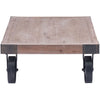Tangier Cart Table Distressed Natural