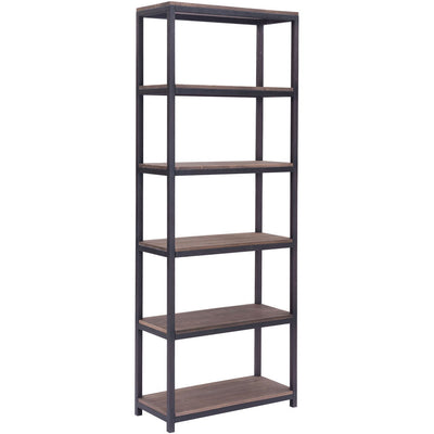 Mansfield Tall 6 Level Shelf Distressed Natural