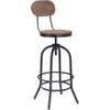 Tolland Bar Chair Distressed Natural
