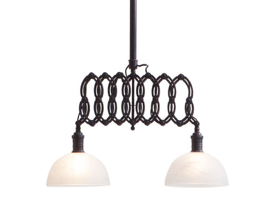 Jewel Ceiling Lamp Antique Black Gold