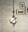 Tabor Ceiling Lamp Antique Black Gold