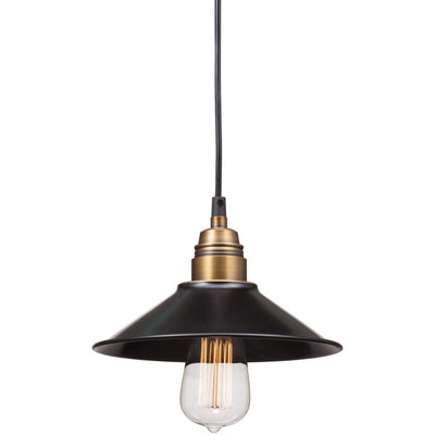 Almelo Ceiling Lamp Antique Black Gold & Brass