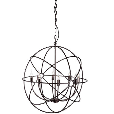 Haaren Ceiling Lamp Rust