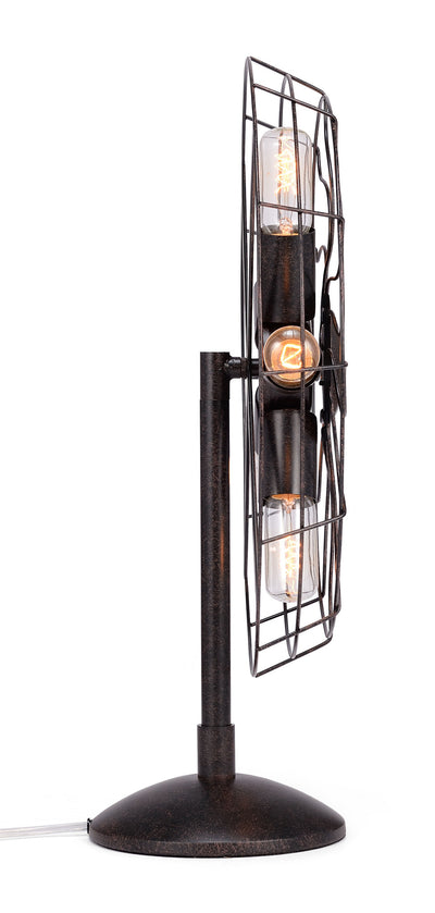 Shelby Table Lamp Rust Black