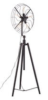 Shelby Floor Lamp Rust Black