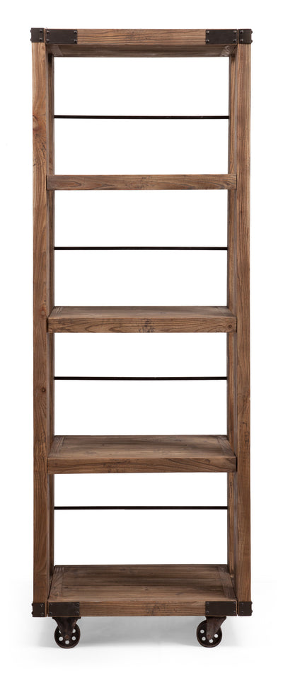 Kesler 4 Level Shelf Distressed Natural
