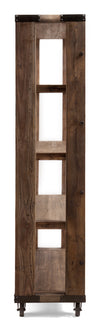 Nahant Wide 4 Level Shelf Distressed Natural