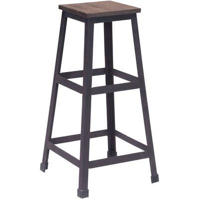 Carver Barstool Distressed Natural