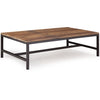 Edgartown Coffee Table Distressed Natural