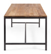 Malden Dining Table Distressed Natural