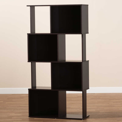Ricky Bookcase Dark Brown
