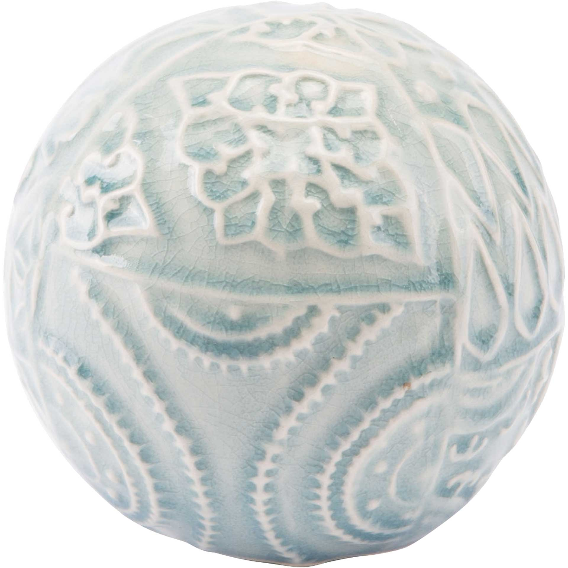 Medallion Orb Blue