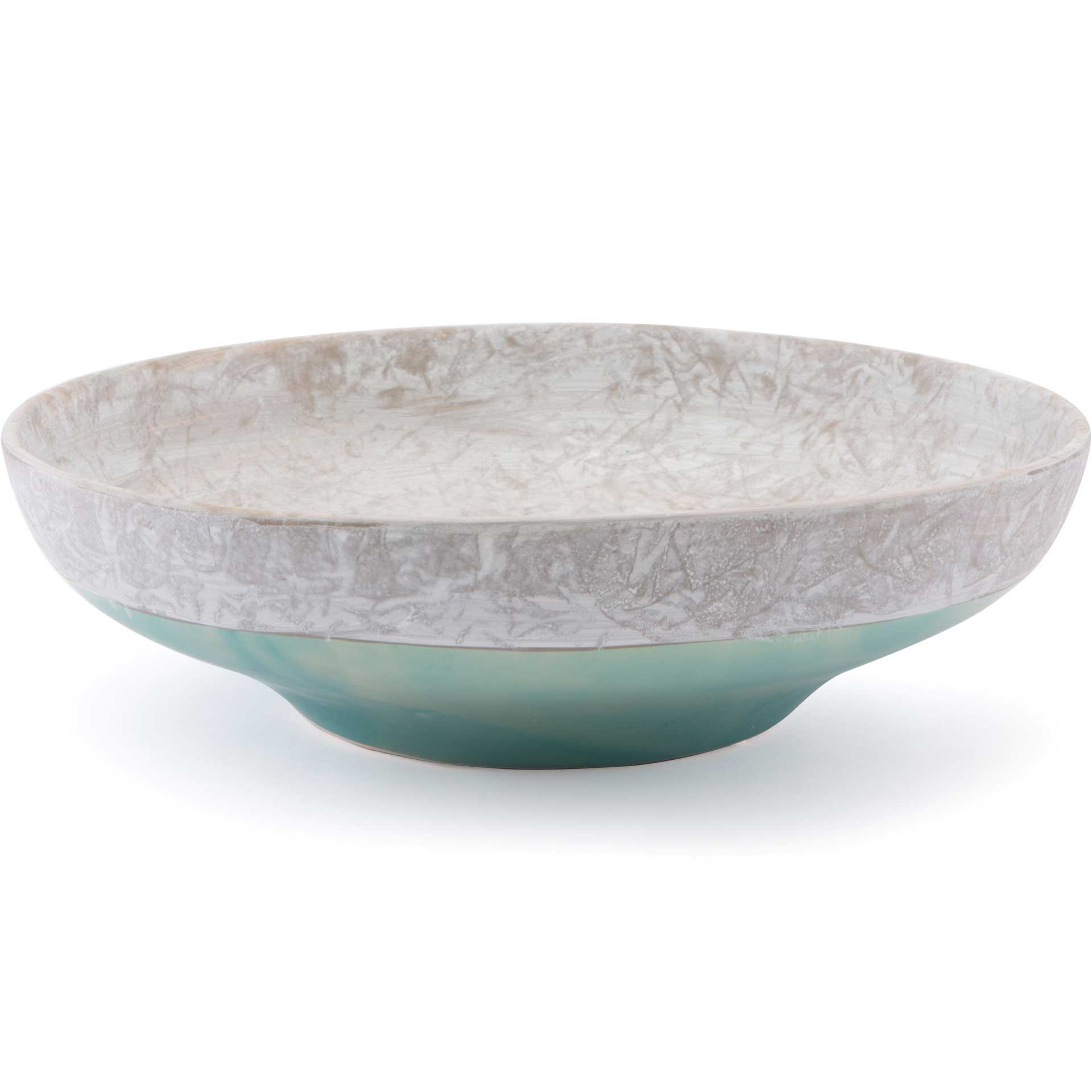 Azte Bowl Gray/Teal