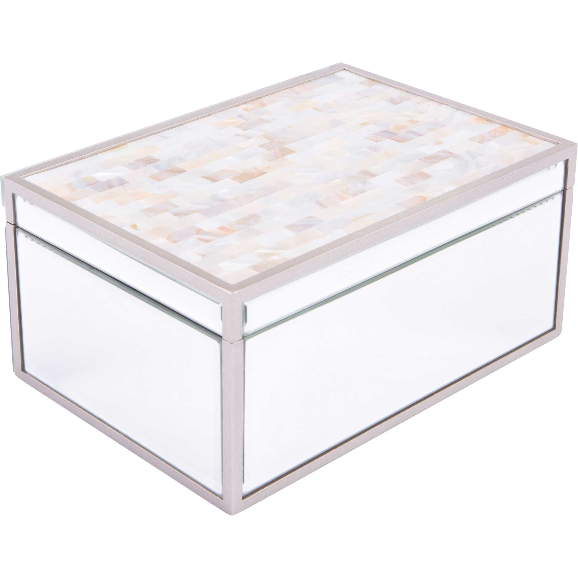 Mother of Pearl Mirror Box
