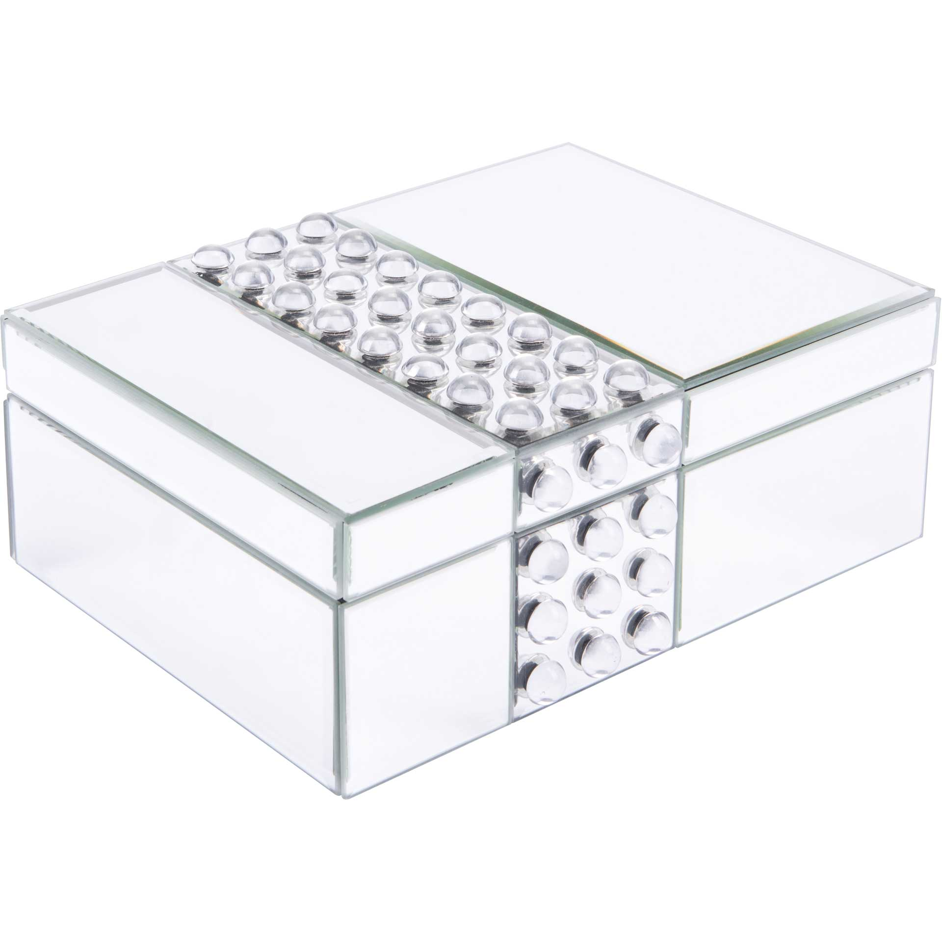 Lucite Mirrored Box