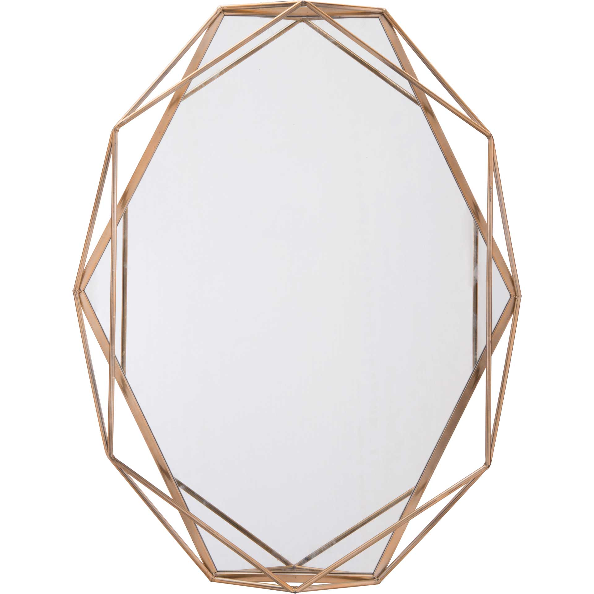 Octagonal Mirror Antique