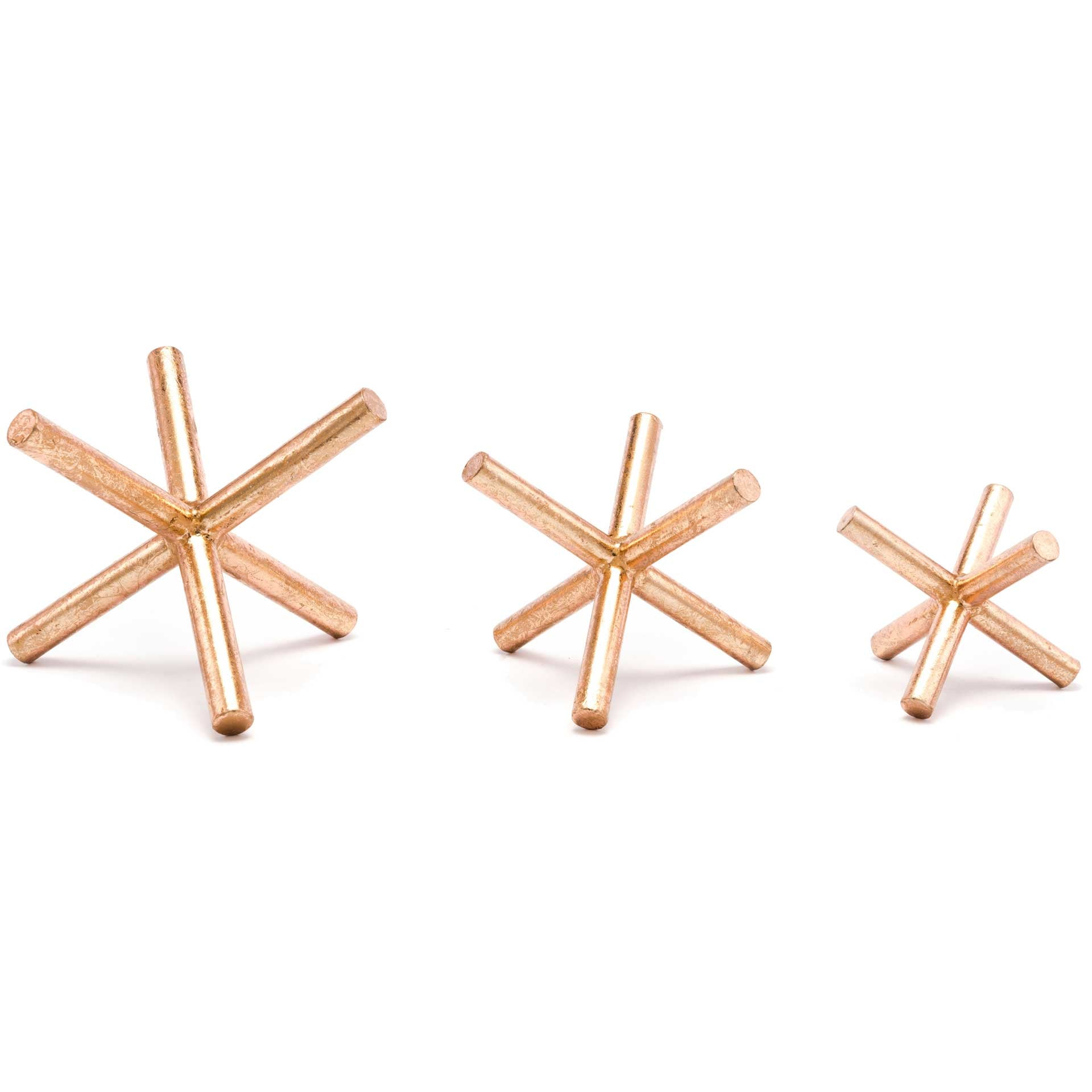 Asterix Decor Copper (Set of 3)