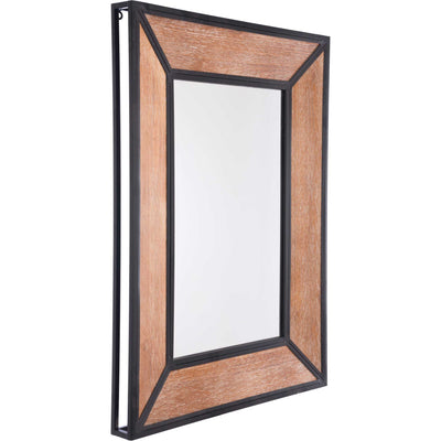 Balc Metal Mirror Antique