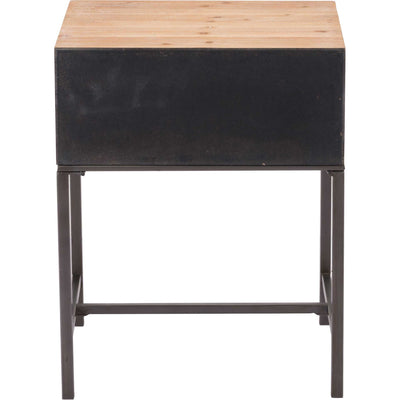 Black End Table Antique