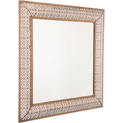 Moroccan Escamas Mirror Antique Gold