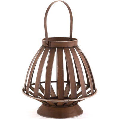 Bamboo Lantern Brown