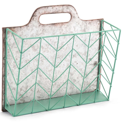 Cartas Wall Basket Blue/Green