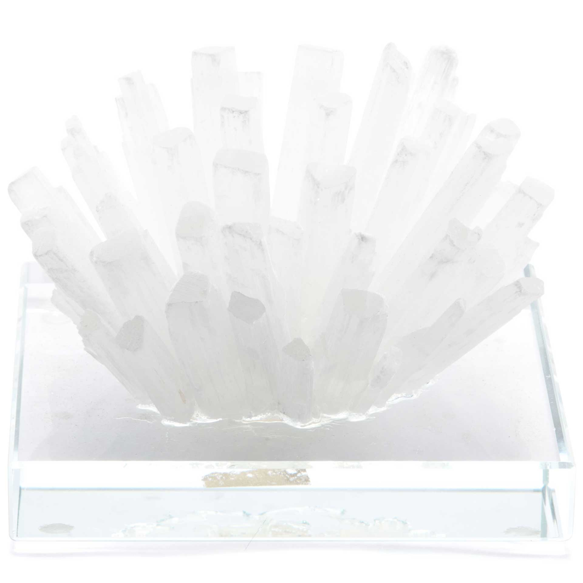 Crystal Stone Square White