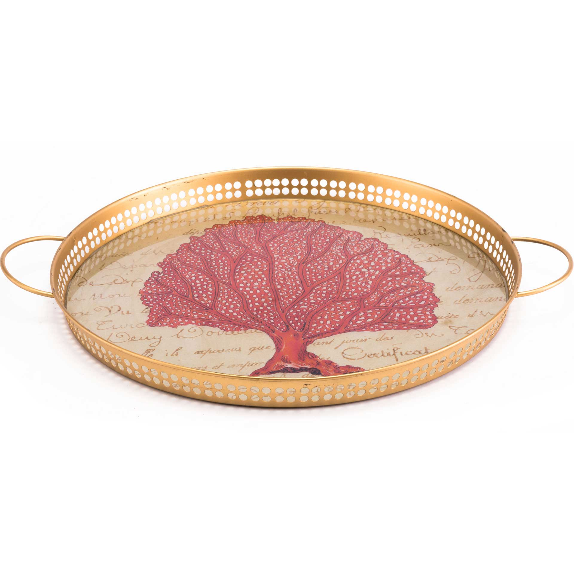 Coral Tray Red