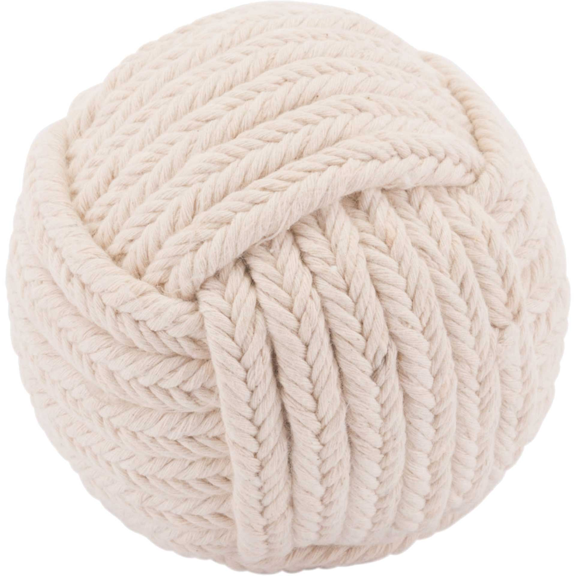 Tribal Ball Knot White