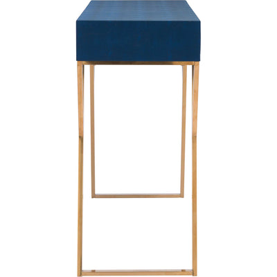 Asti Console Table Navy