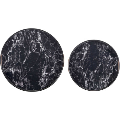 Mundi Tray Black (Set of 2)
