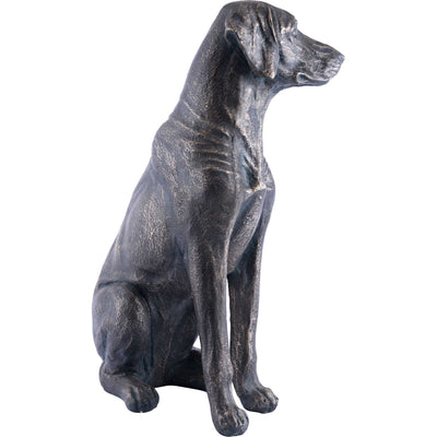 Dog Sitting Bronze