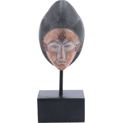Tribal Portrait Sculpture Multicolor