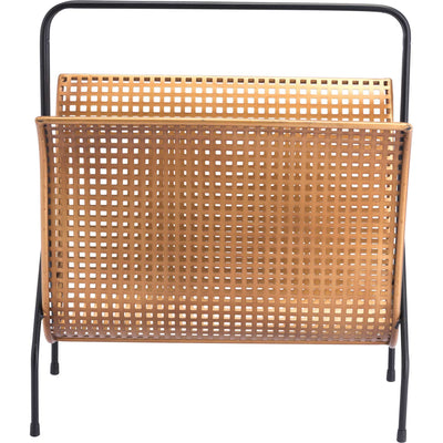 Dotted Magazine Rack Gold