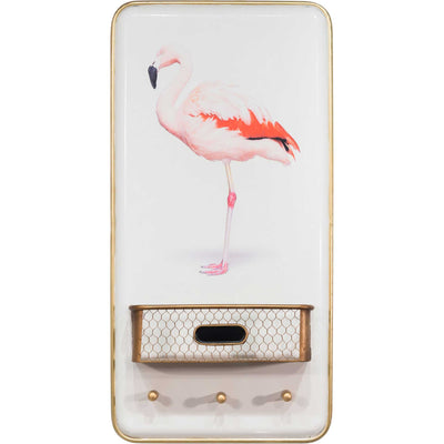 Flamingo Wall Decor Multicolor