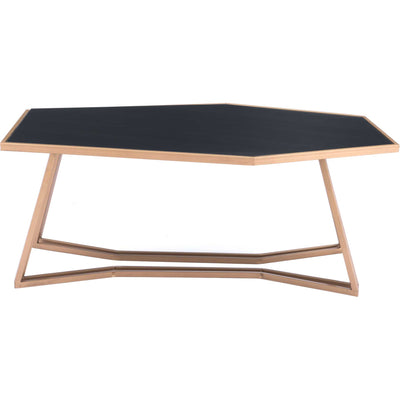Geo Coffee Table Black/Gold