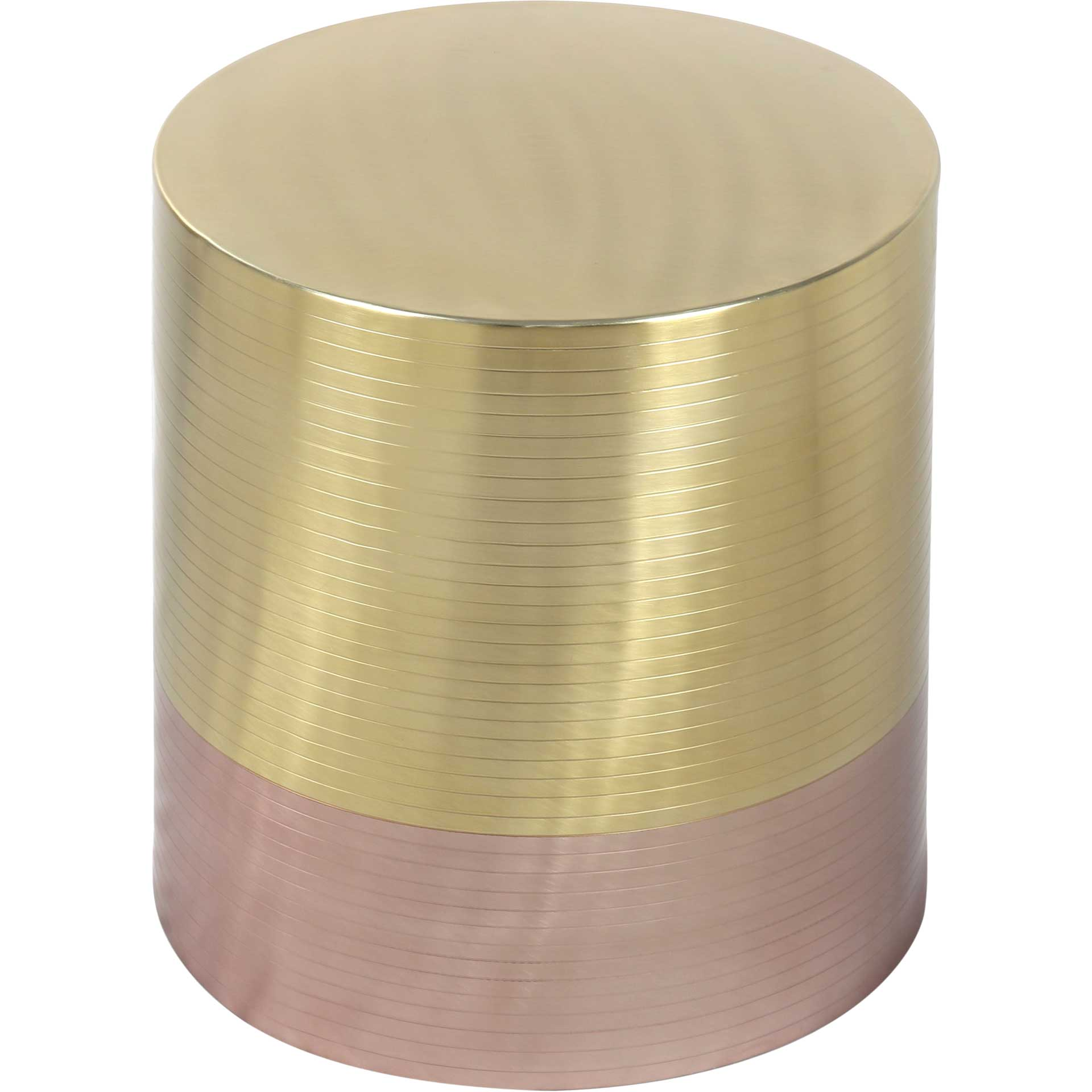 Paloma Accent Table Gold/Rose Gold