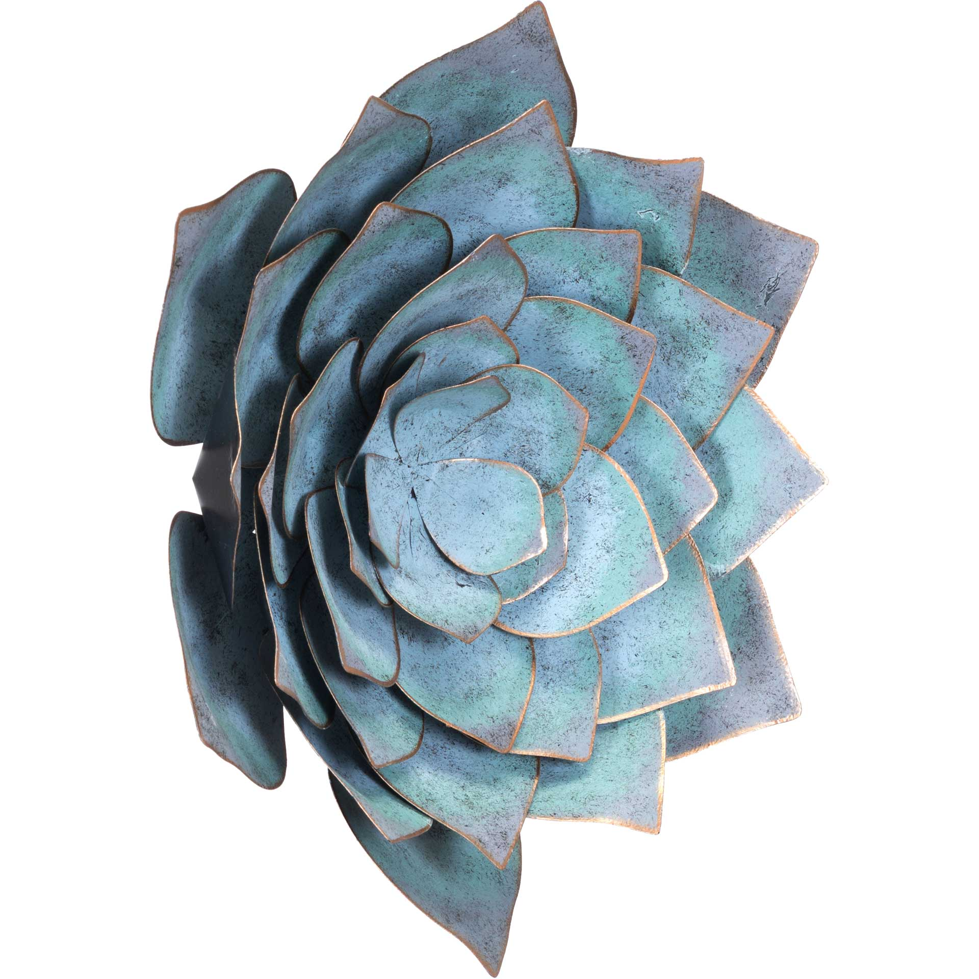 Lotus Wall Decor Blue