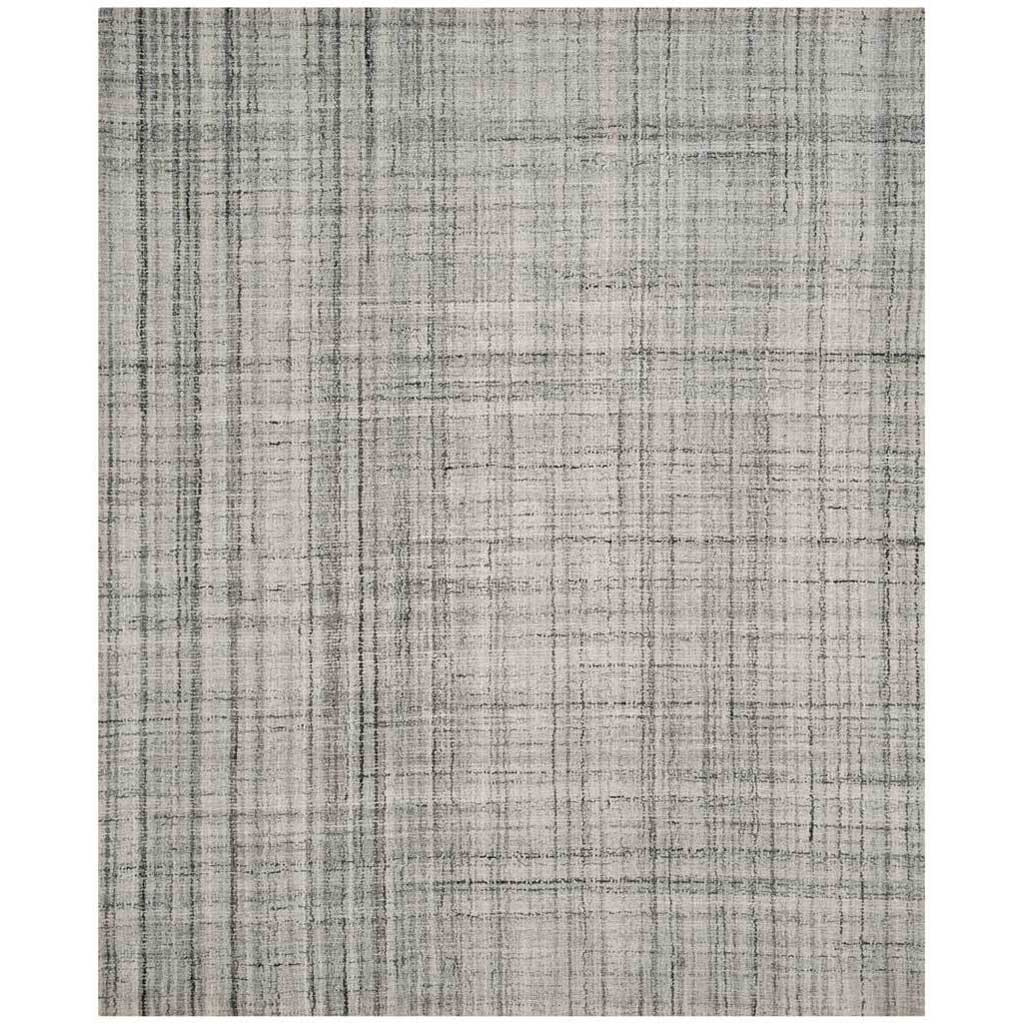 Abstract Gray/Black Area Rug