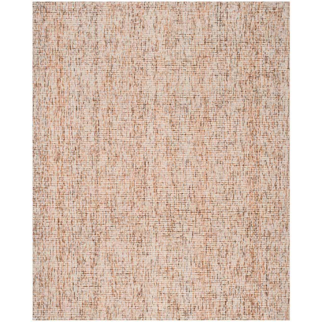 Abstract Beige/Rust Area Rug