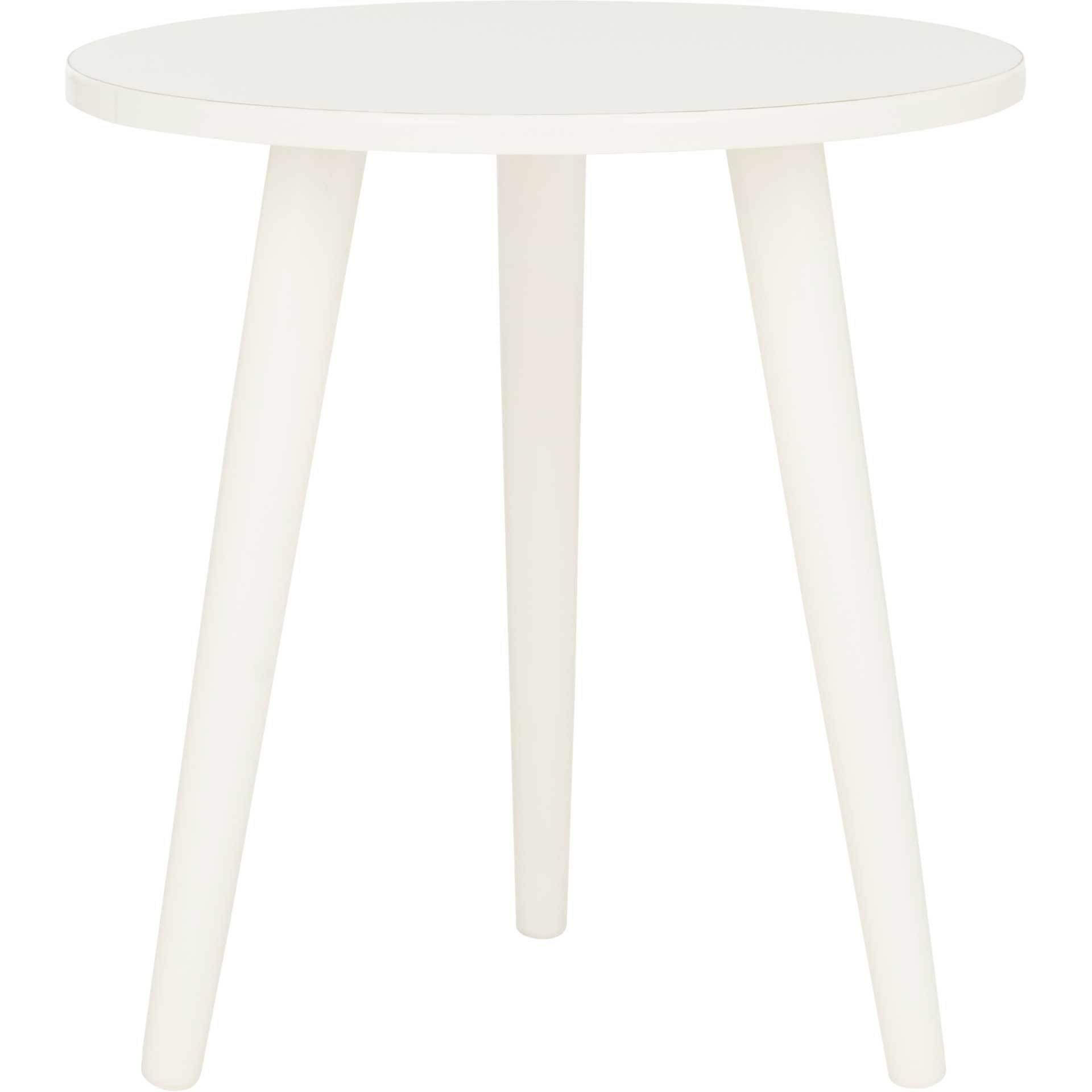 Orla Accent Table Distressed White