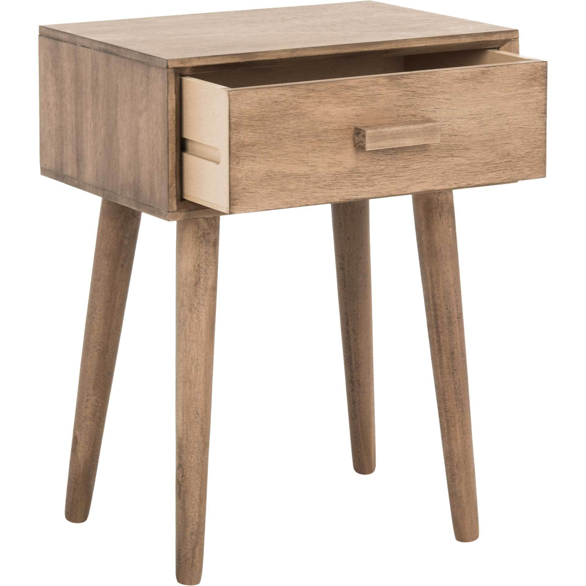 Lylah Accent Table Desert Brown