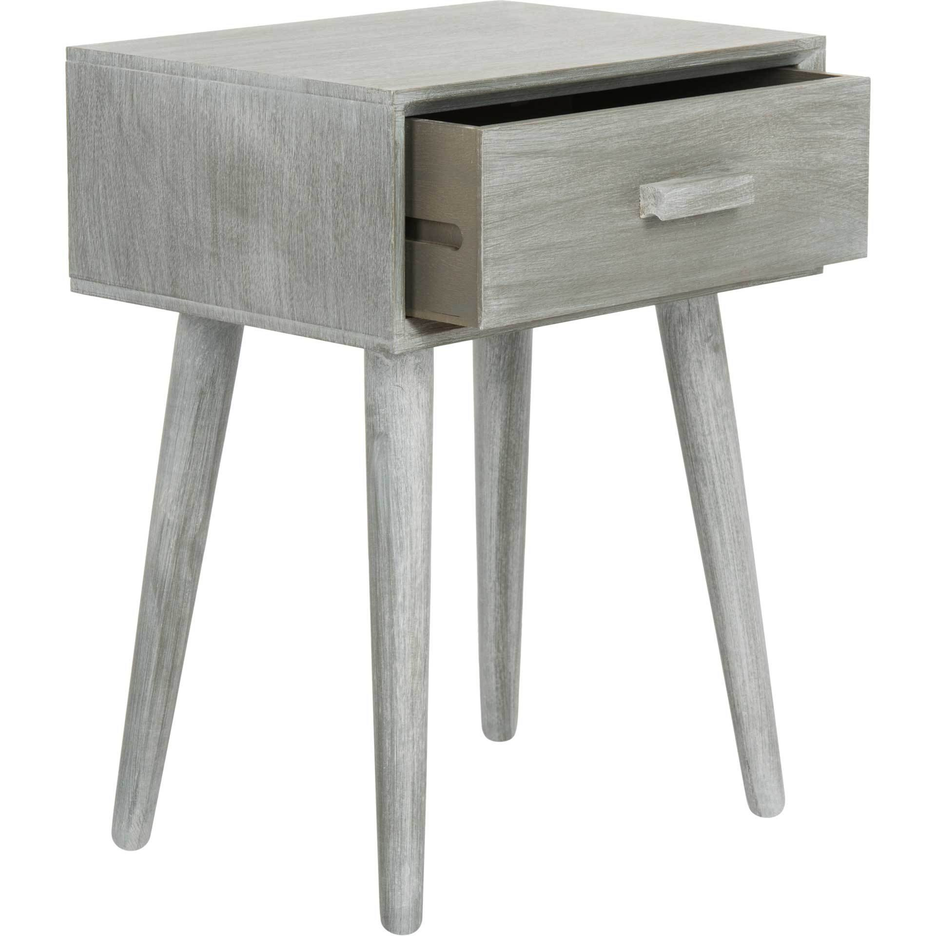 Lylah Accent Table Slate Gray