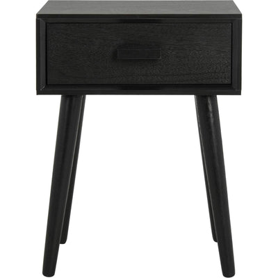 Lylah Accent Table Black