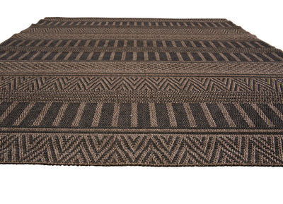 Acadia Staniel Brown/Black Area Rug
