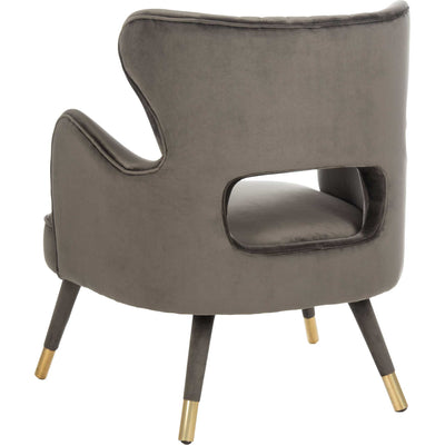 Blake Wingback Accent Chair Shale
